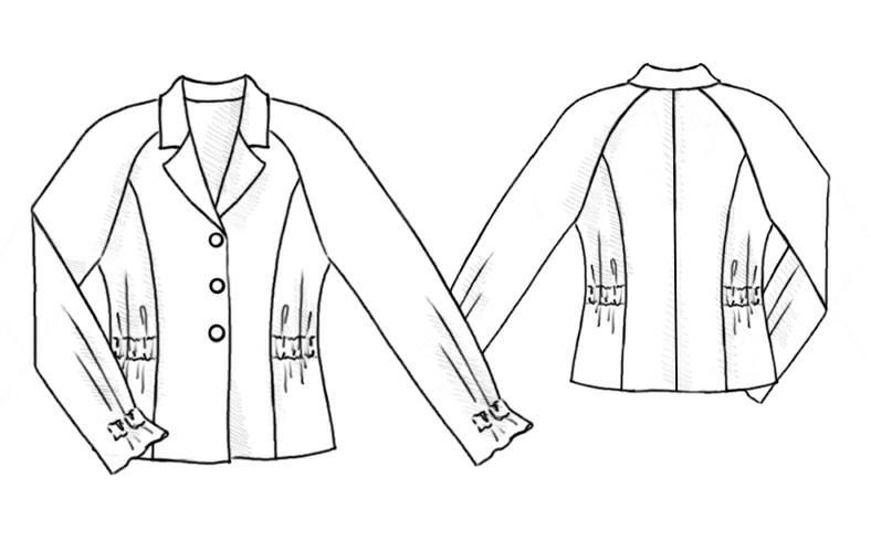 выкройка блузок рукавом реглан. выкройка трикотажного платья с рукавами