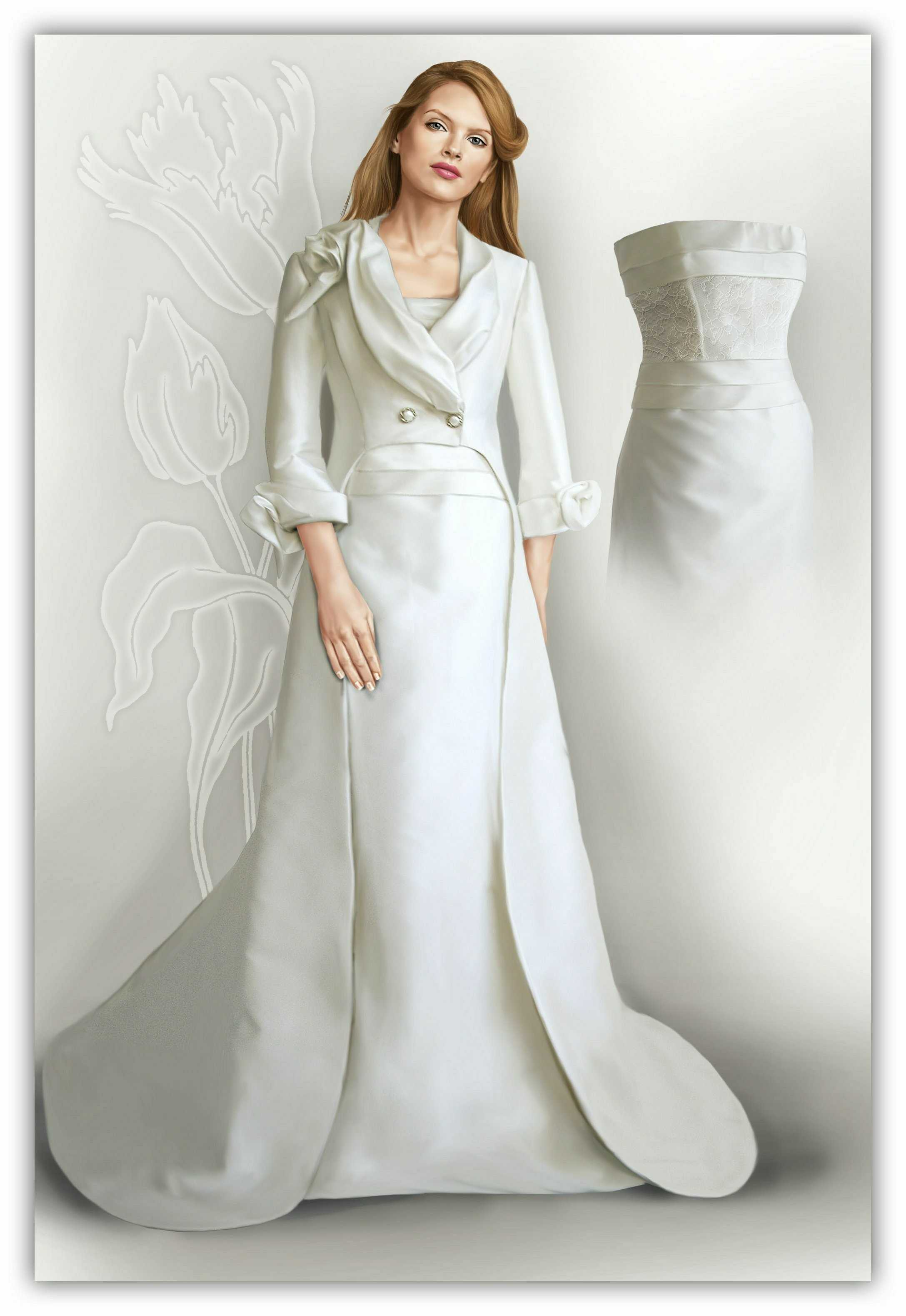 Tailcoat sewing pattern 2015 made to measure sewing for Wedding dress patterns free download