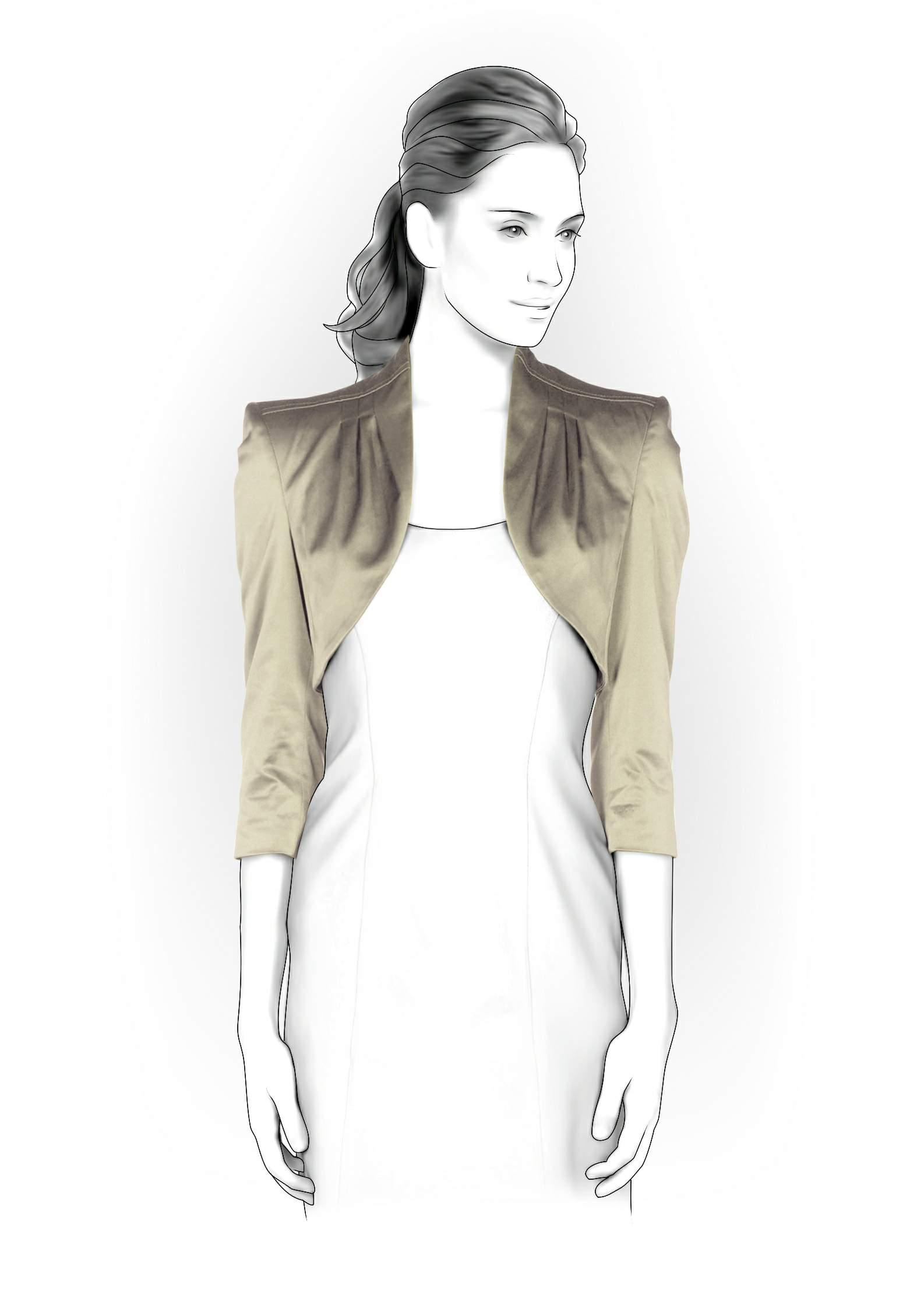 Bolero Jacket Pattern Bolero Sewing Pattern 4159