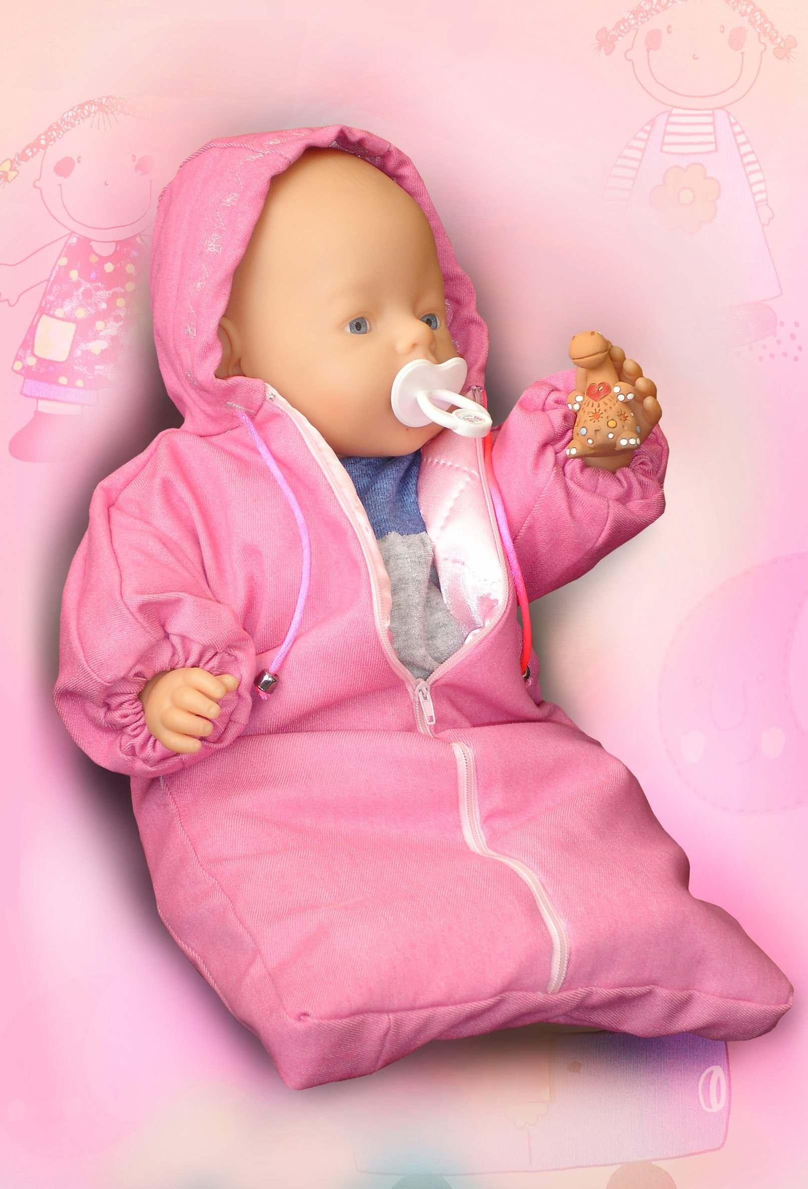 Меховой конверт для куклы Одежда для куклы