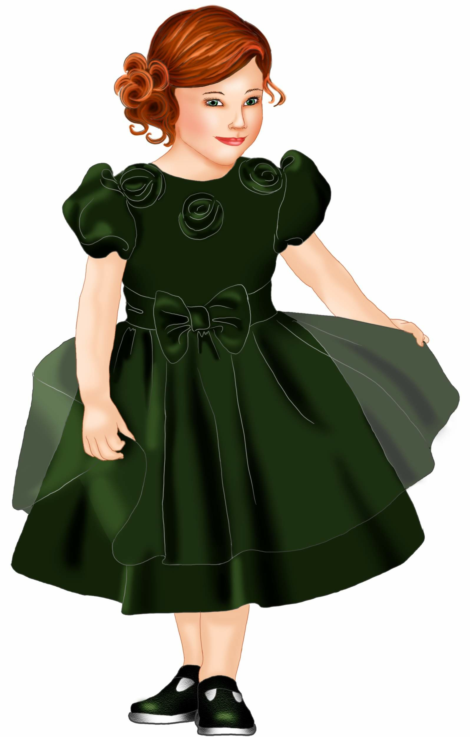 Как сшить платье с длинными рукавами фонариками