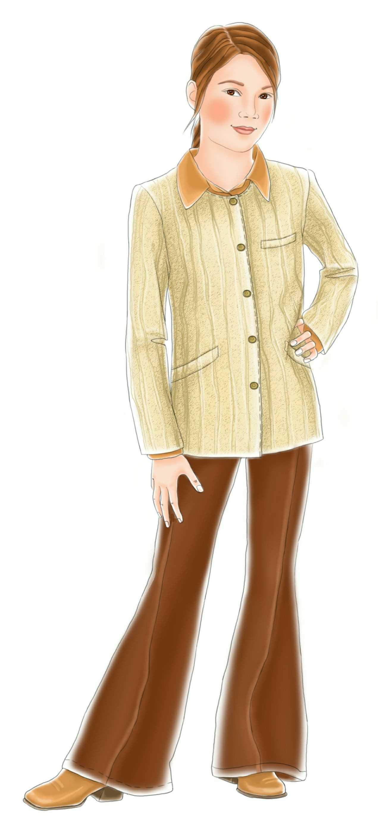 Collarless Jacket Pattern Collarless Jacket Sewing