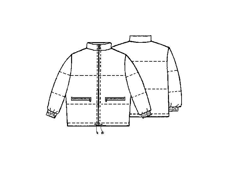 Стёганая куртка женская выкройка