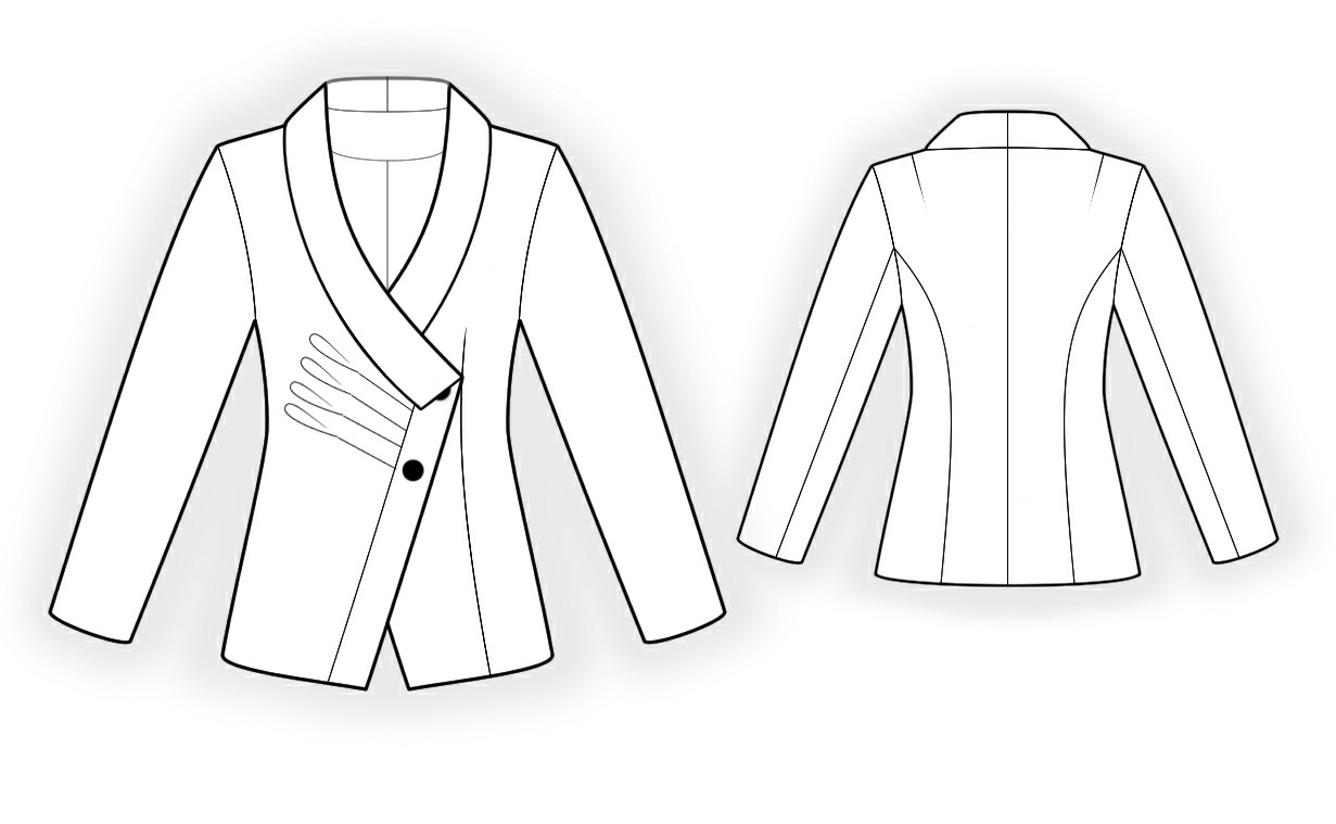 Jacket Sewing Pattern 4303 Made To Measure Sewing
