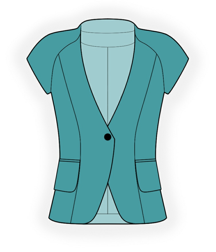 Short Jacket Pattern - JacketIn