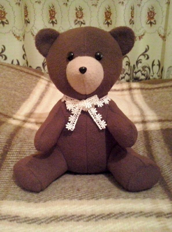 Teddy Bear - Sewing Pattern #3050. Made-to-measure sewing pattern ...