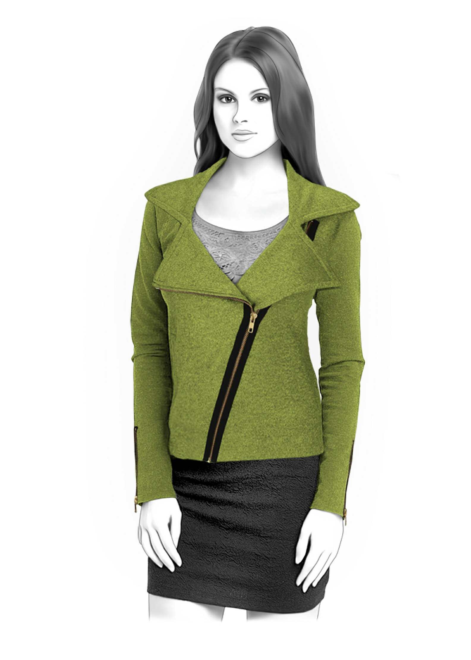 Sweatshirt - Sewing Pattern #4336  Made-to-measure sewing