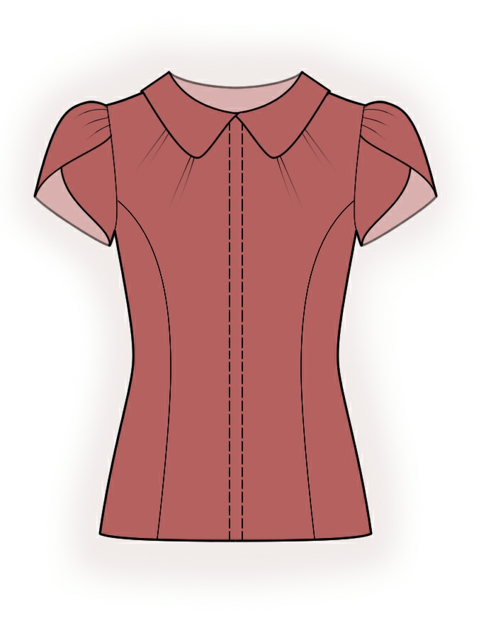 Model Blouse Patterns Top Patterns Womens Sewing Patterns