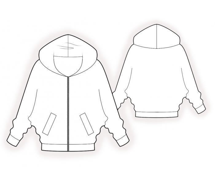 Sweatshirt Sewing Pattern 60 Madetomeasure Sewing Pattern Extraordinary Sweatshirt Pattern