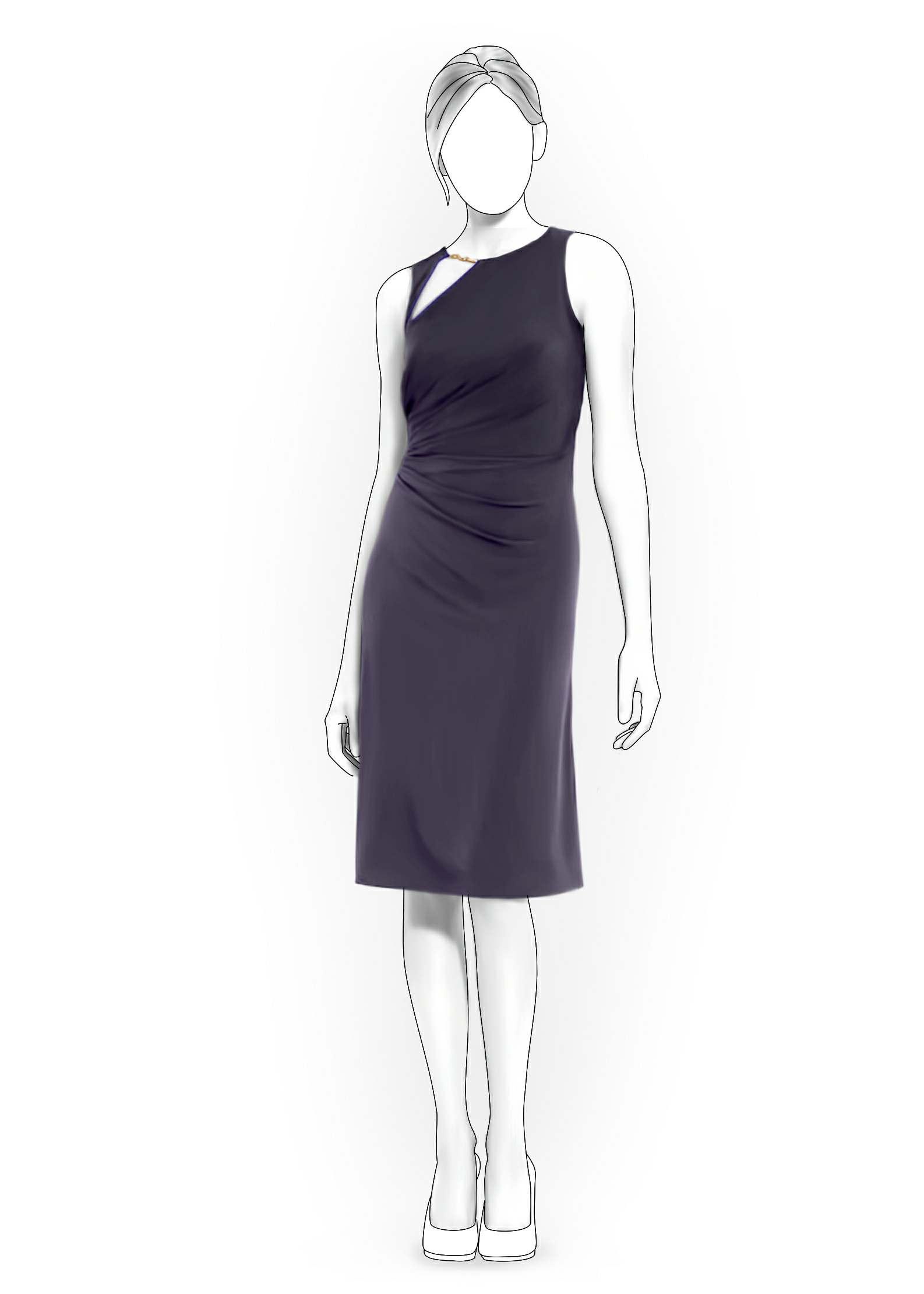 Платье из юбки в пол своими руками