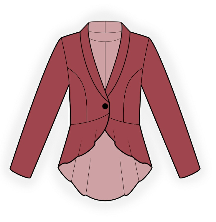 Jacket With Peplum Pattern Jacket With Peplum Sewing