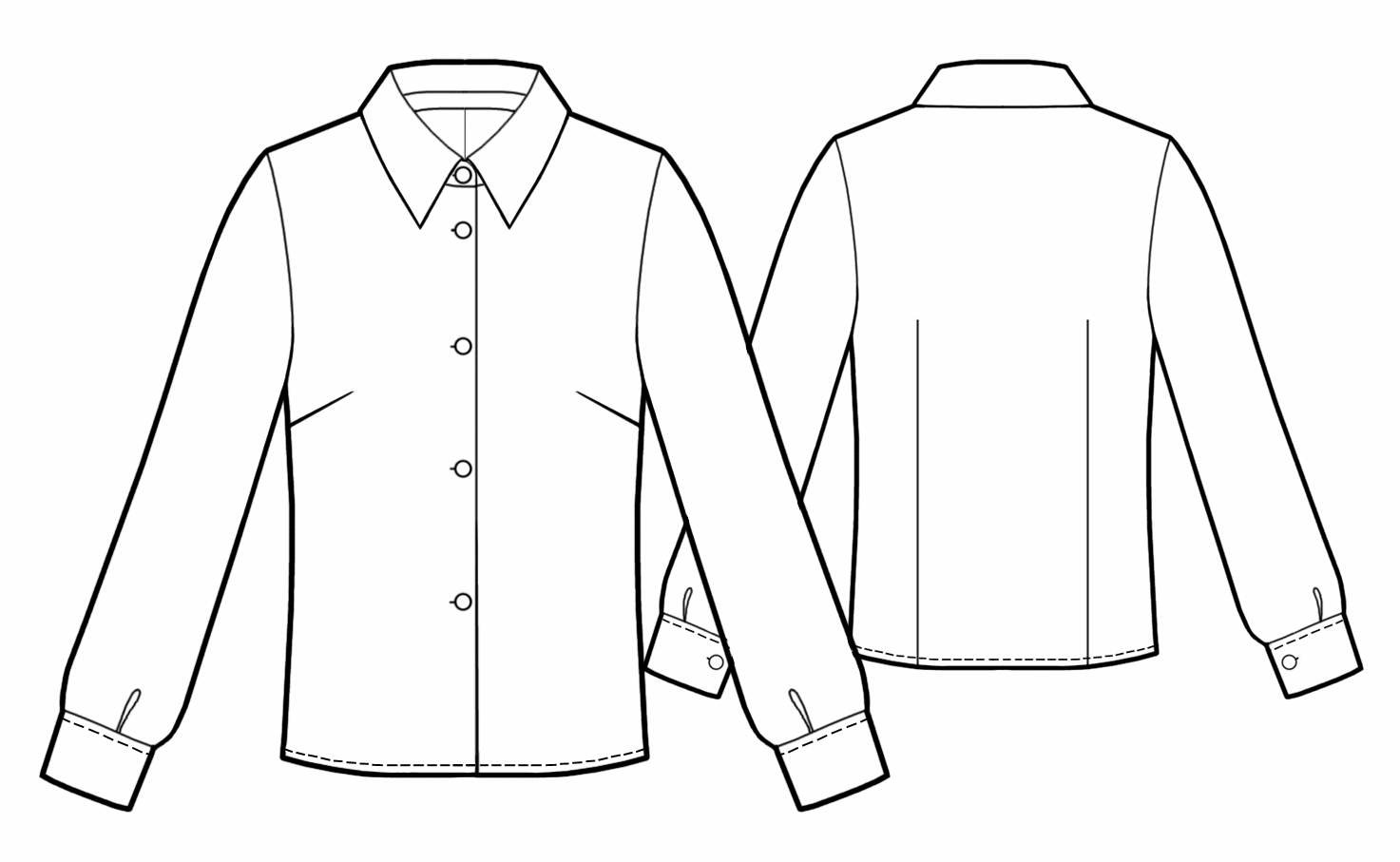 Blouse Drawing