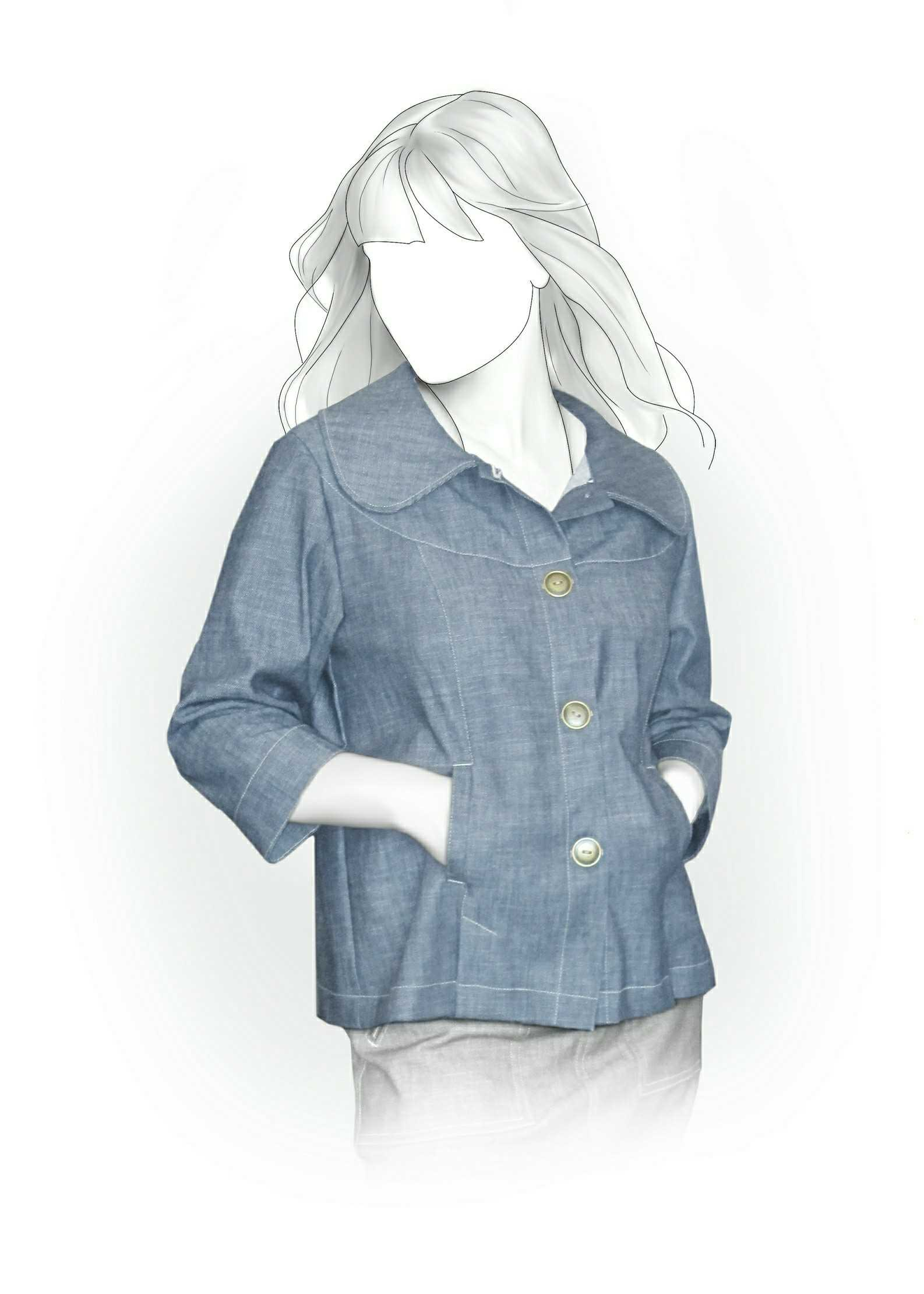 Куртка женская как сшить своими руками