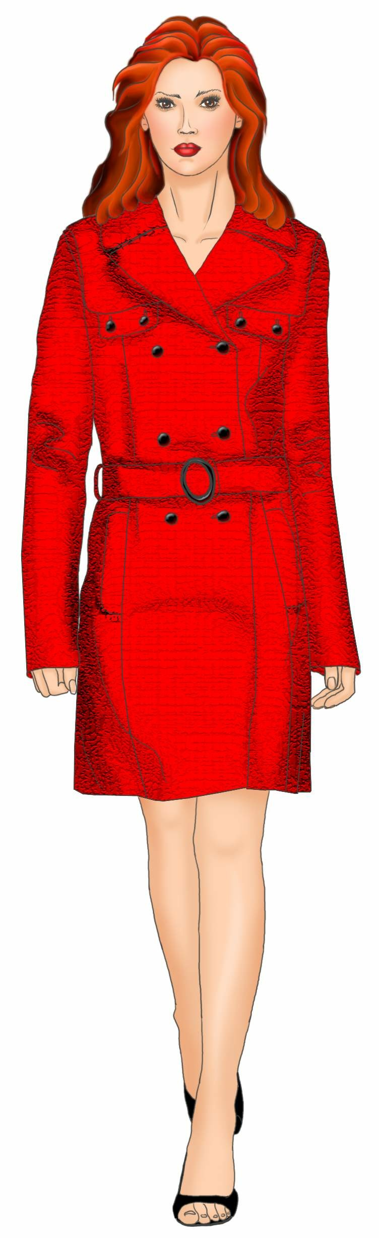 Trench Coat Sewing Pattern 5488 Made To Measure Sewing