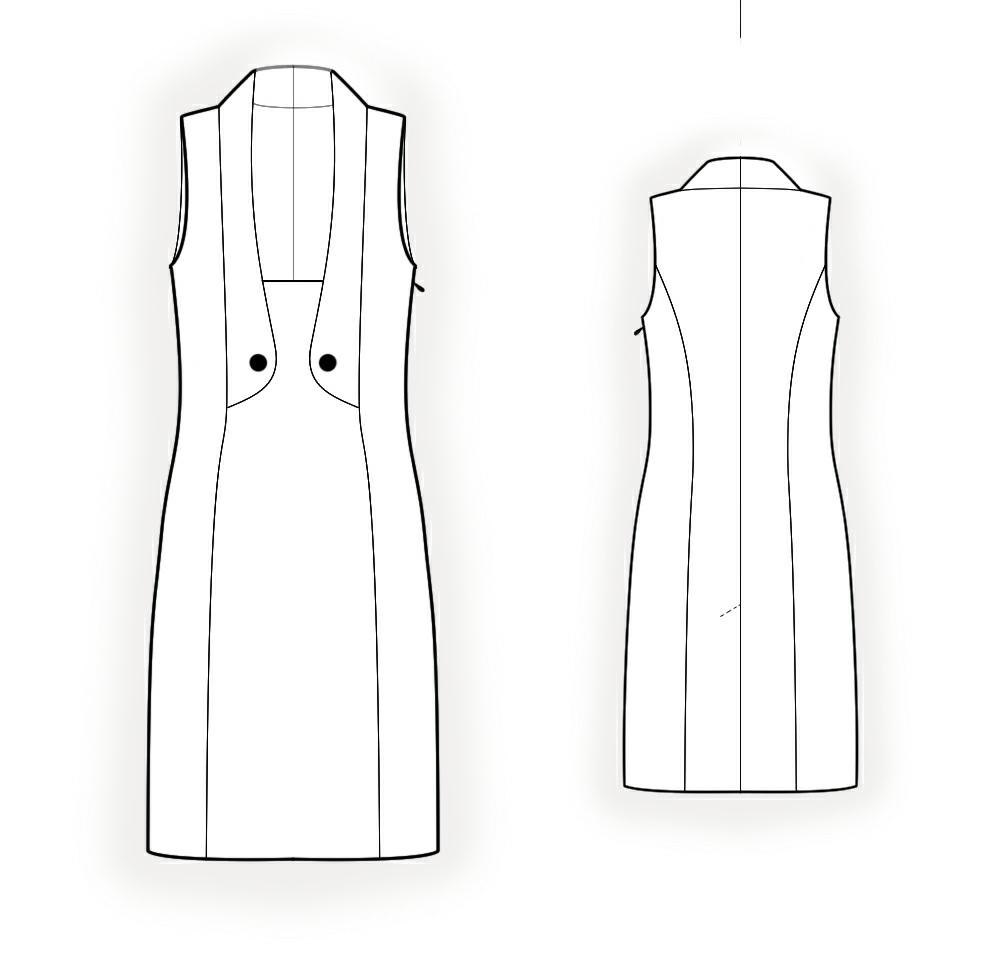 Vest Sewing Pattern Unique Decoration