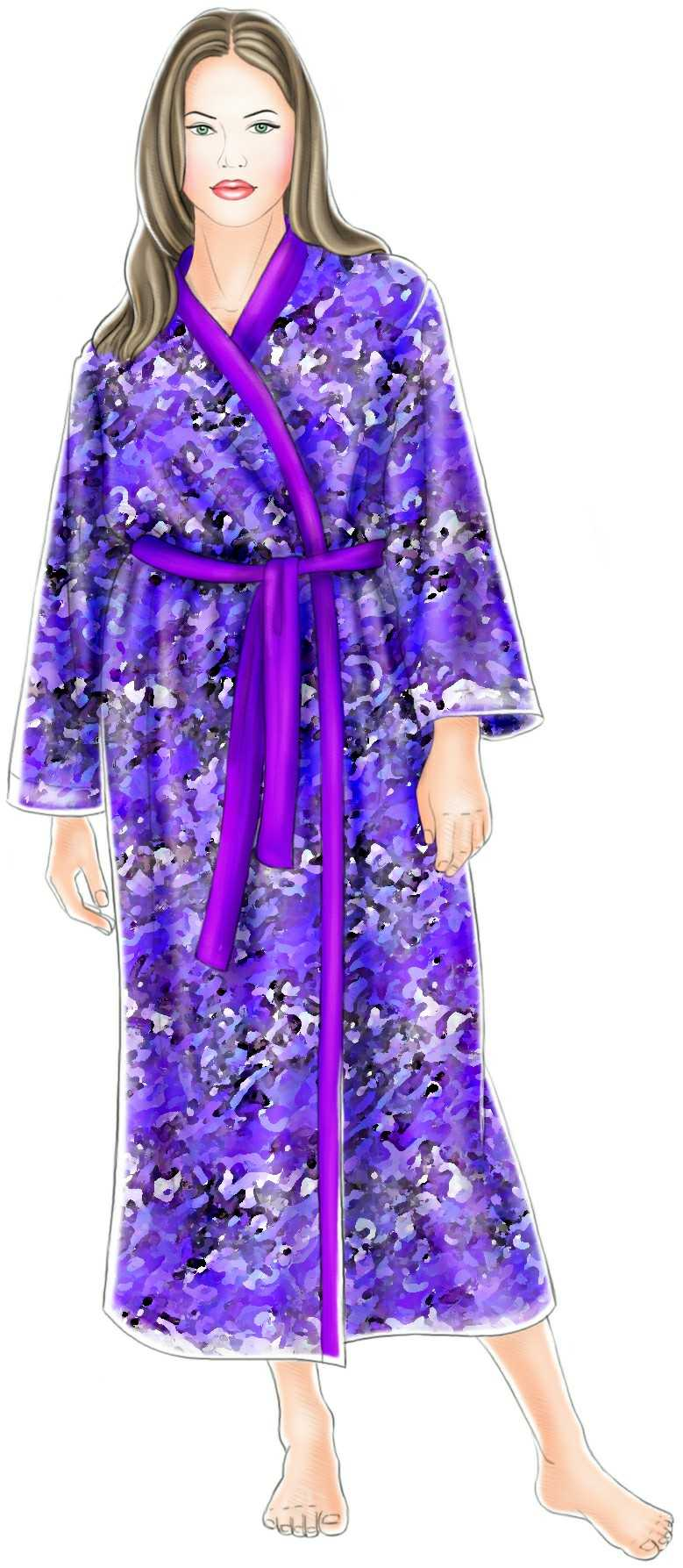 Kimono gown sewing pattern 5257 made to measure sewing pattern kimono gown sewing pattern 5257 jeuxipadfo Gallery