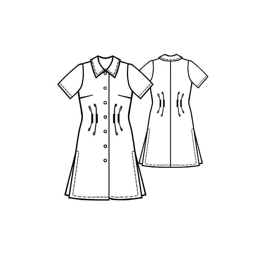 Выкройки платье из джинсовой ткани