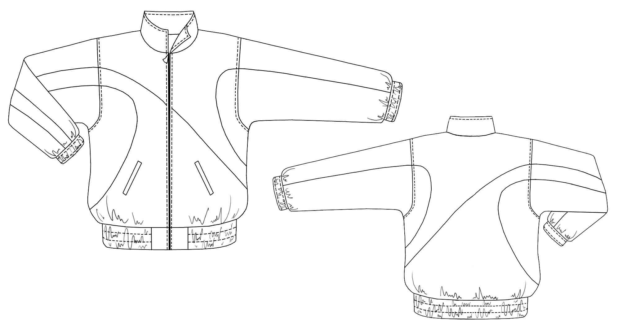Sport Jacket Sewing Pattern 6115 Made To Measure