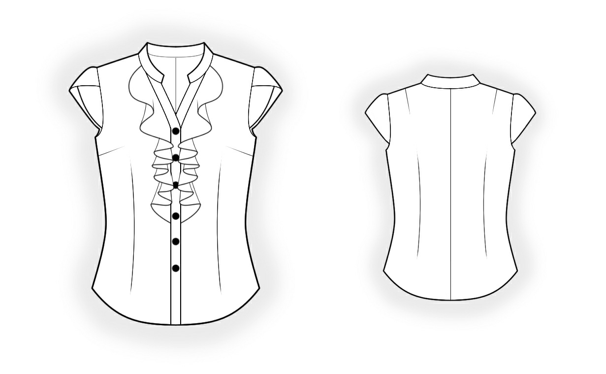Maternity Blouse Pattern