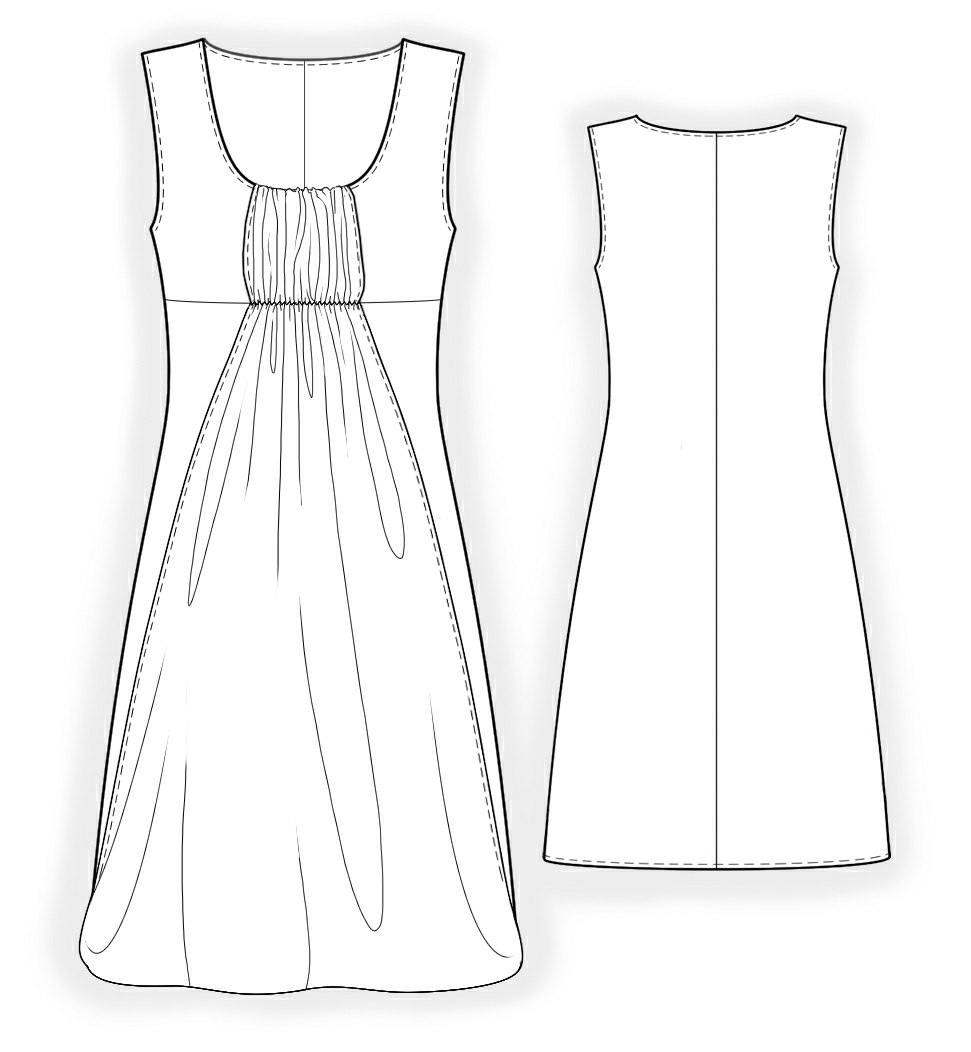 Dress Sewing Pattern 4164 Made To Measure Sewing