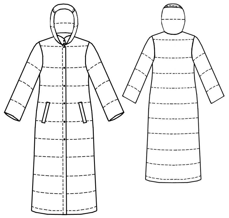 Пальто куртки выкройка
