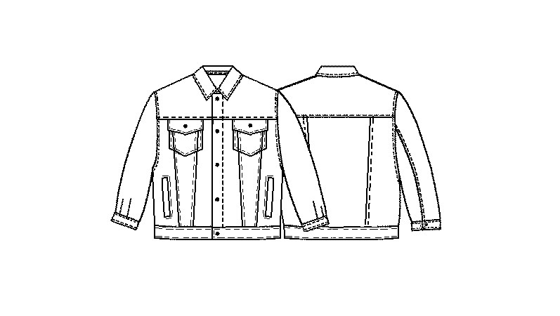 Sewing Pattern #7006. Made-to-measure