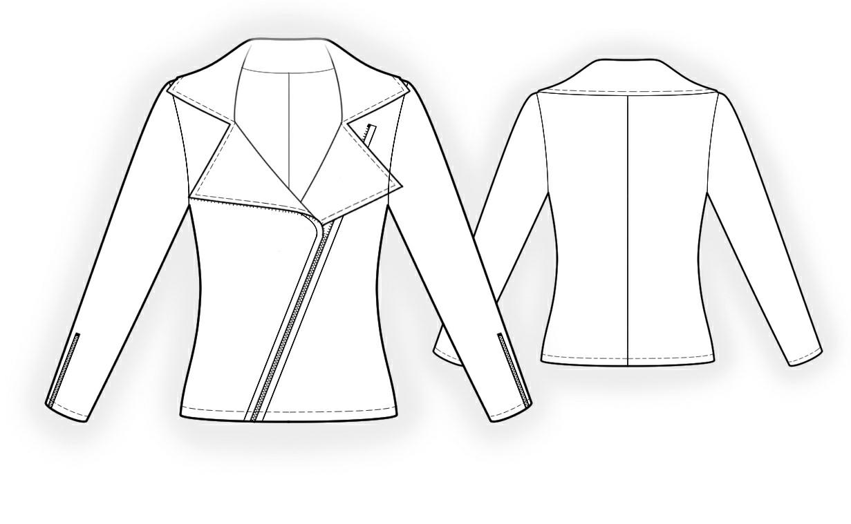 Sweatshirt Sewing Pattern 4336 Made To Measure Sewing Pattern