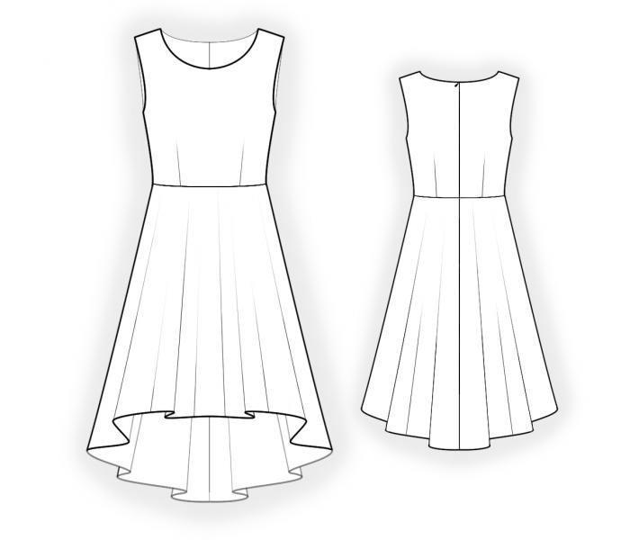 Skater Dress Pattern M6754 as well Finishings And Trimmings together with Style Glossary Sleeve It To Me furthermore Thing together with Cartoon Wedding Dress. on drawing long skirt