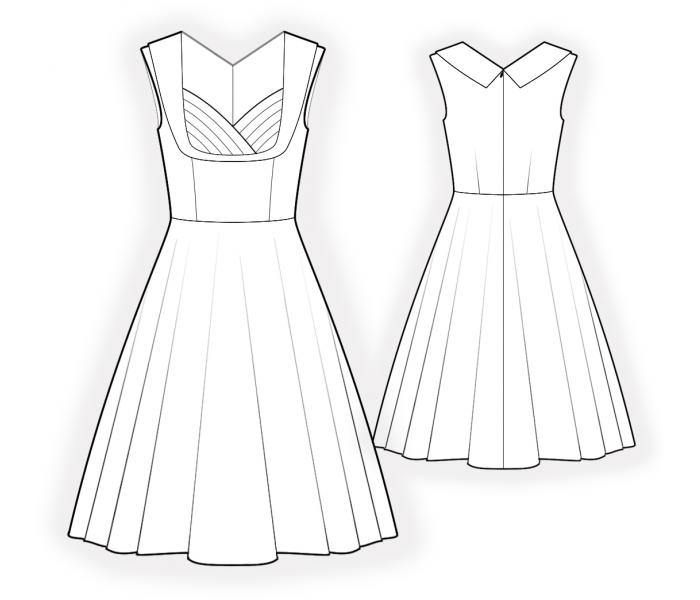 Free Wedding Dress Sewing Patterns Online - Bridesmaid Dresses