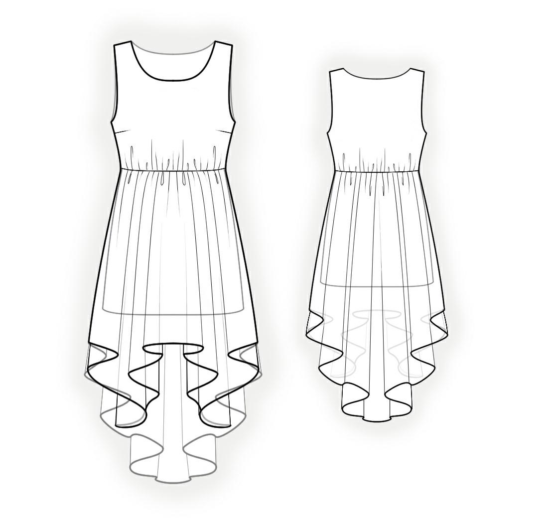Рисунок на платье может быть каким угодно: крупный горох, полоска, мелкая клеточка, яркие