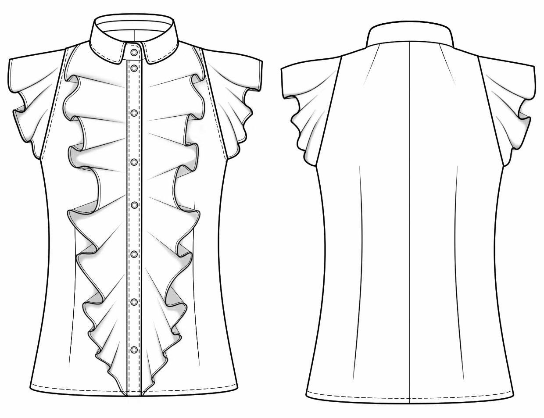 Выкройки блузки