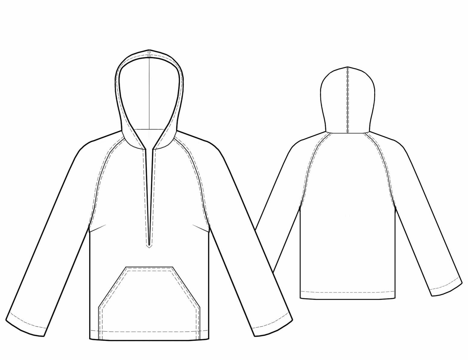 Blouse with hood sewing pattern 5755 made to measure sewing other suggestions jeuxipadfo Choice Image