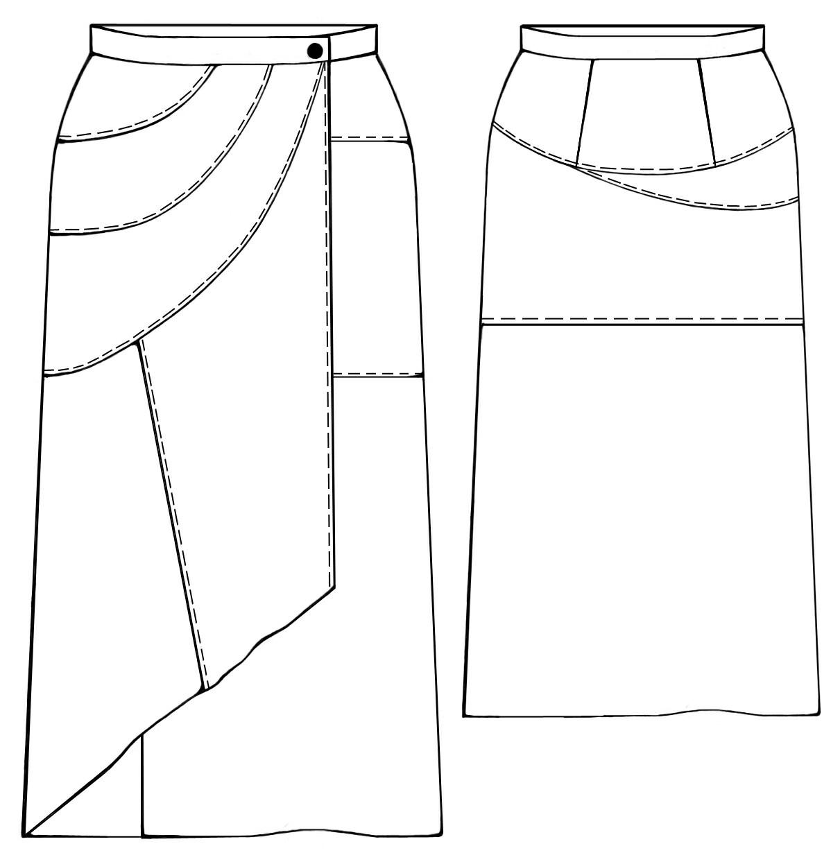 Сшить юбка брюки разных видов 31
